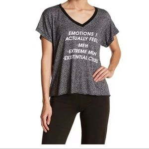 NEW WILDFOX Emotions V-Neck Tee ~Size S~